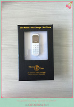 LONG CZ J8 MINI BLACK WORLD SMALLEST MOBILE PHONE WITH VOICE CHANGER BLUETOOTH