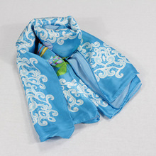 High Quality Square 100% Digital Printing Silk Scarf Wholesale