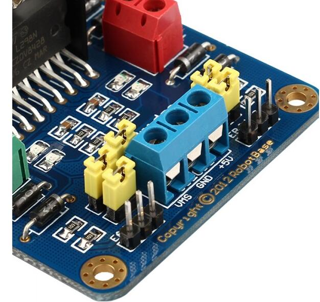 L298 Dual H-Bridge DC Motor Driver Stepper Motor Driver Controller for Arduino