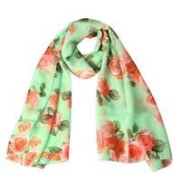 2015 custom spring fashion cheap chiffon scarf