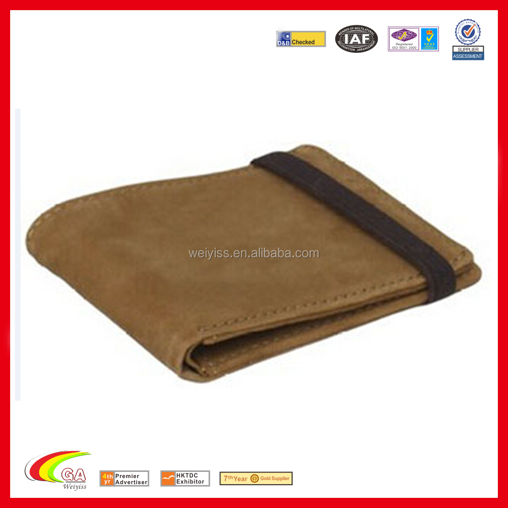 China genuine leather men pocket purse, Brown leather purse for male, Leather men purse supplier