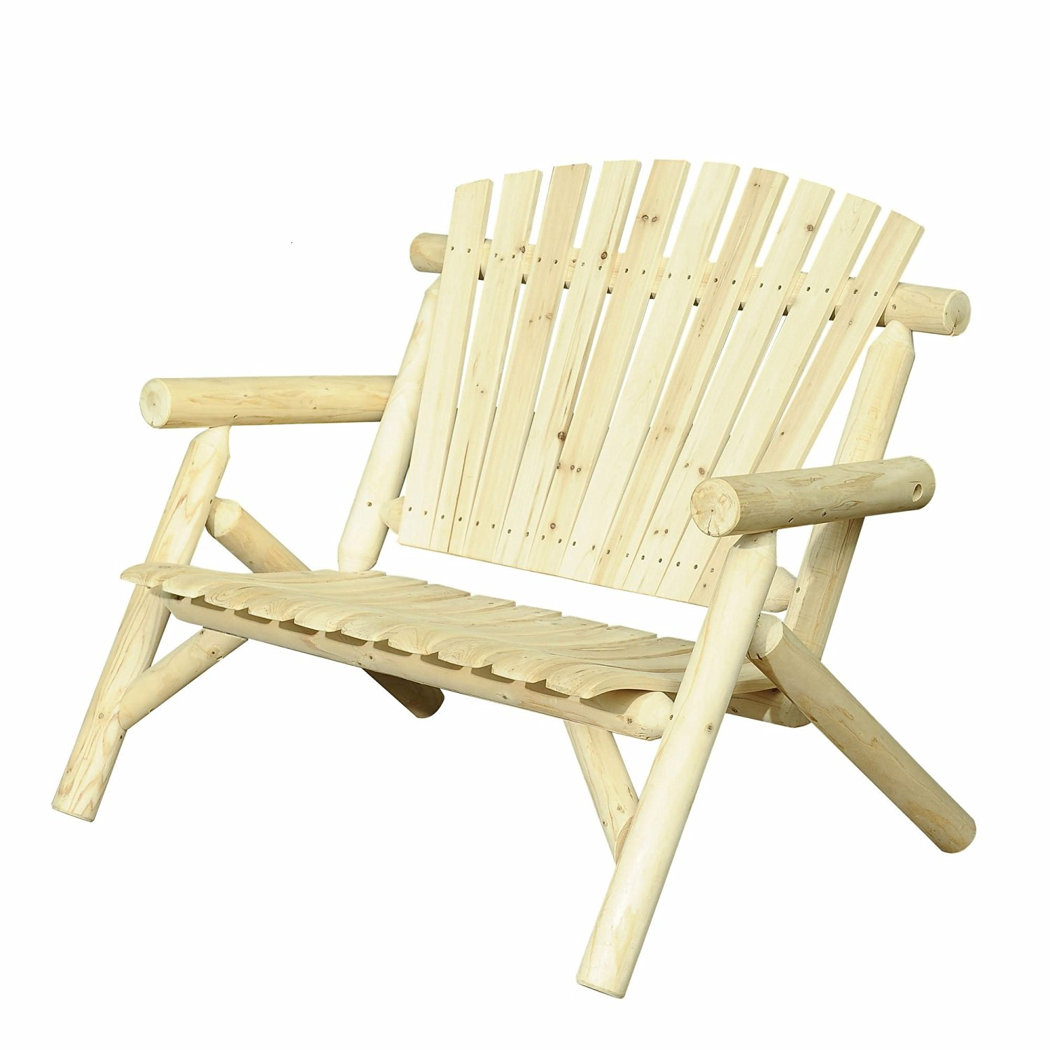 Get Quotations · Patio Chairs In Wood, Bench Chair As Garden Furniture,Lawn  Chair,Patio Furniture