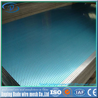 China experienced factory direct supplier steel 304 perforated metal plates