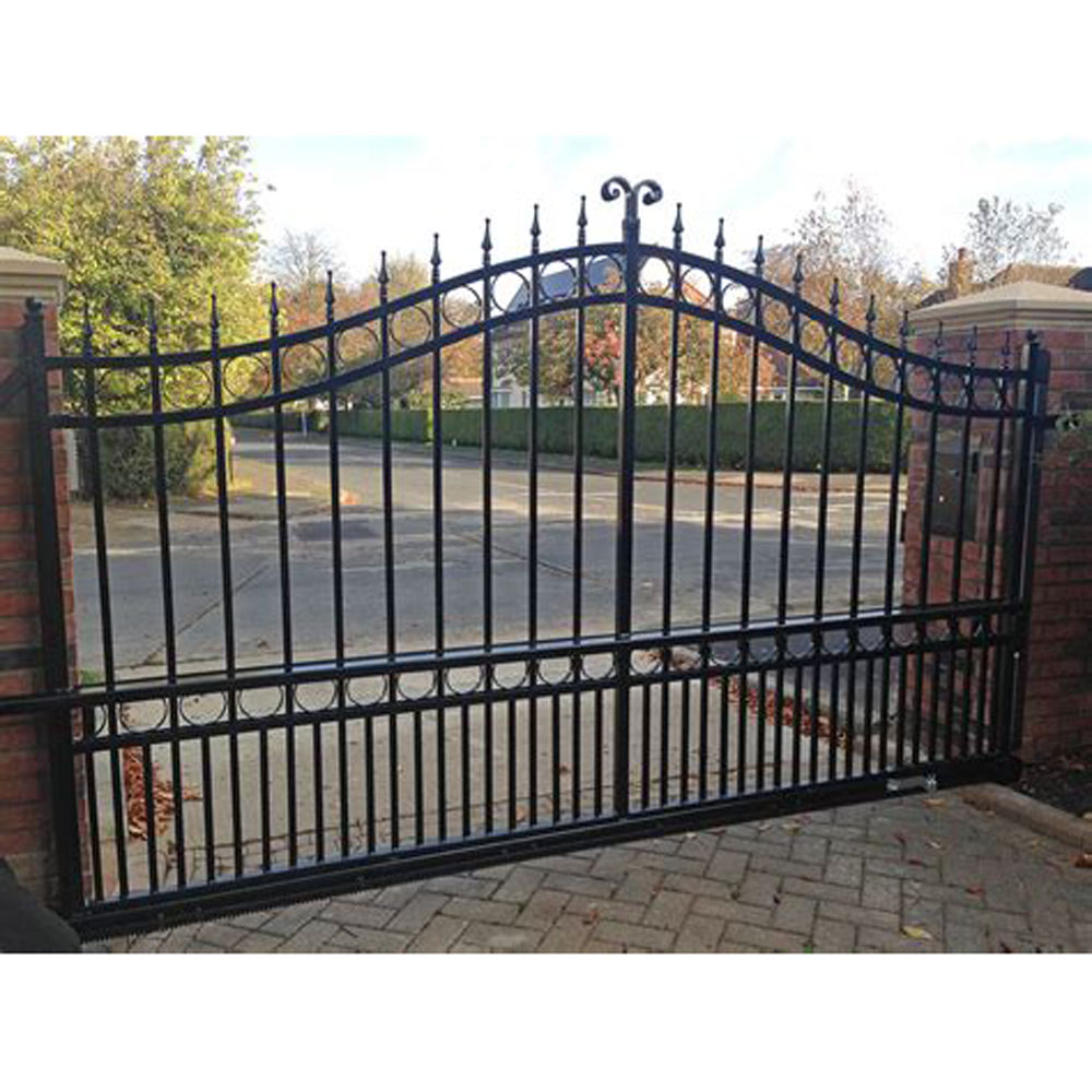 New Design Sliding Driveway Gate 00387 Product On Alibaba