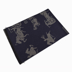 100% Silk Scarf Designer Silk Scarf Horse Design 100% Pure Silk High Quality Jacquard Scarf for Ladies Men's