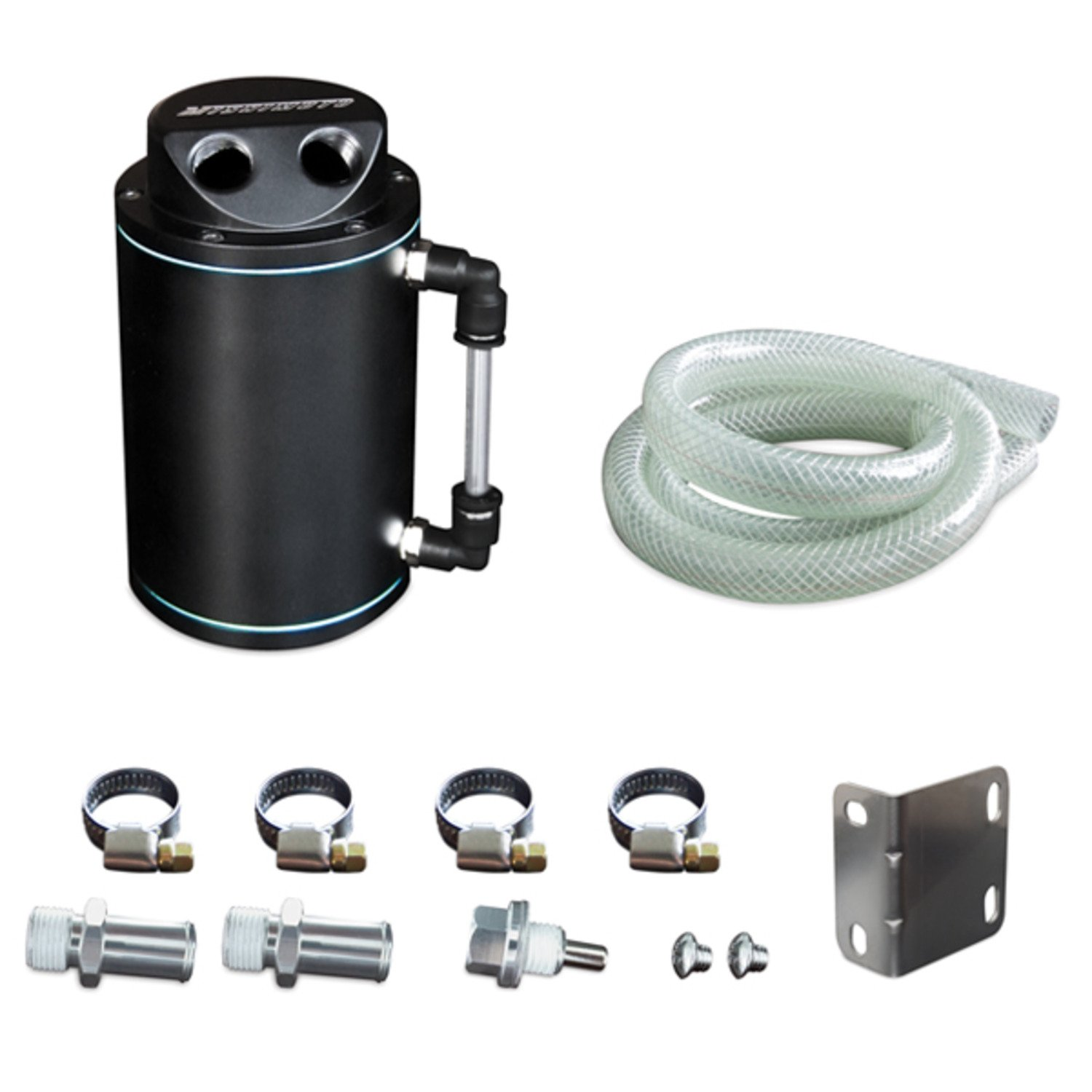 Mishimoto MMOCC-RB Black Oil Catch Can