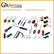 Promotional LED Flashlight Keychain/Keyring, Wholesale Keychain, Hot Seller