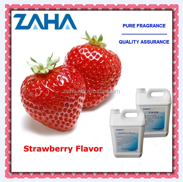 Fresh and sweet natural strawberry flavour, artificial fruit flavor powder