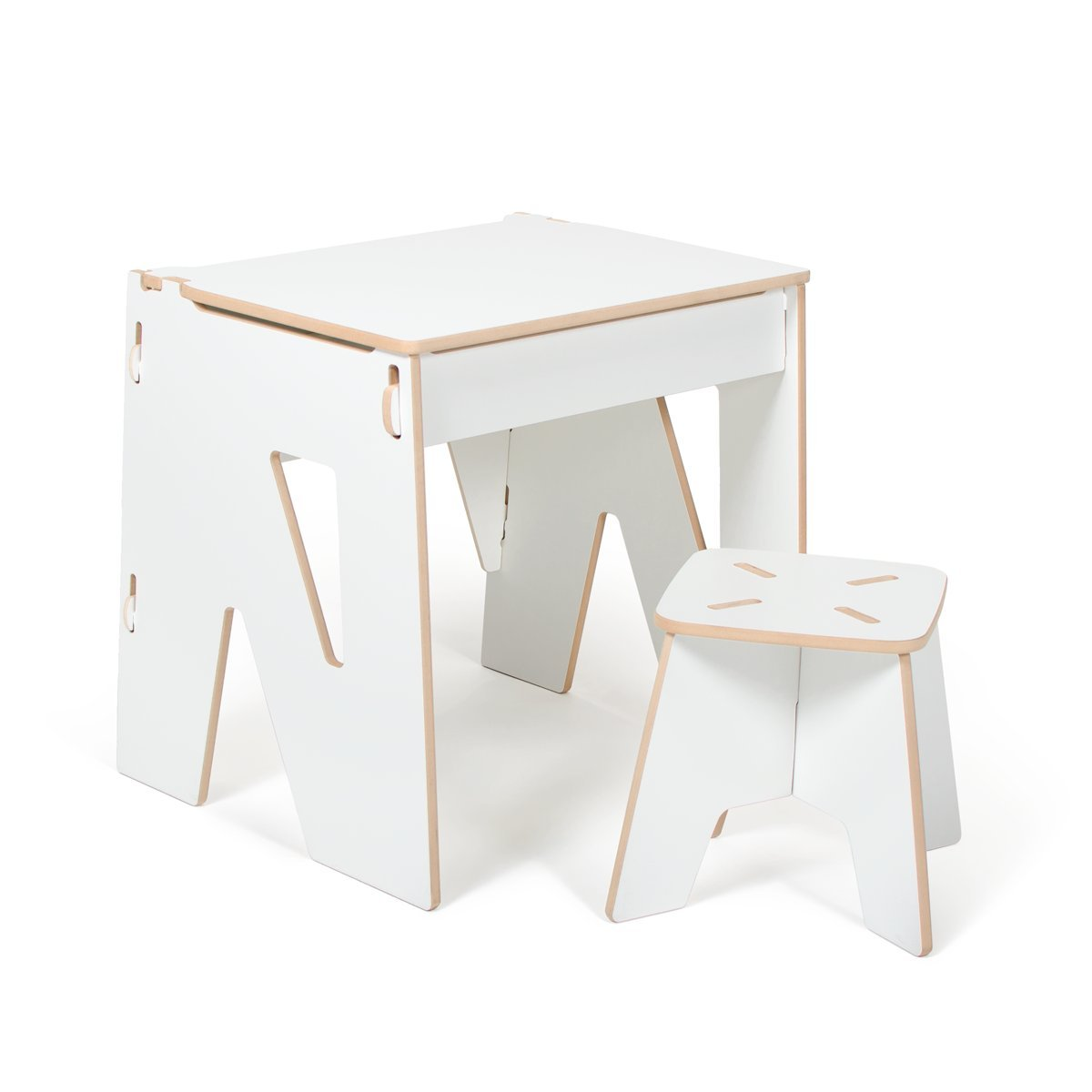 Get Quotations · White Modern Kids Desk and Stool with Storage American Made  sc 1 st  Alibaba & Cheap Kids Desk And Storage find Kids Desk And Storage deals on ...