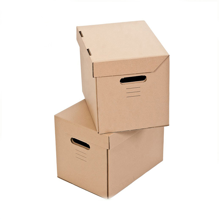 Standard packing box sizes 5 ply corrugated perforated carton courier box