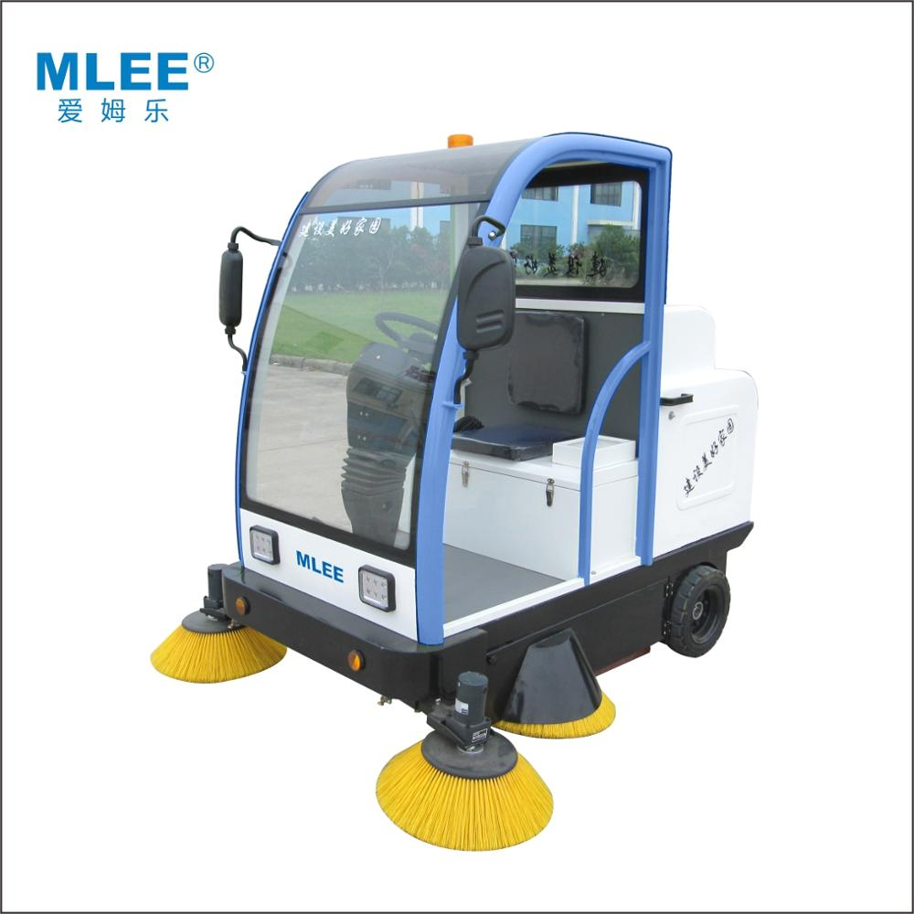 MLEE-1800 automatic cleaning equipment sweeper electric brushing ride on floor sweeper