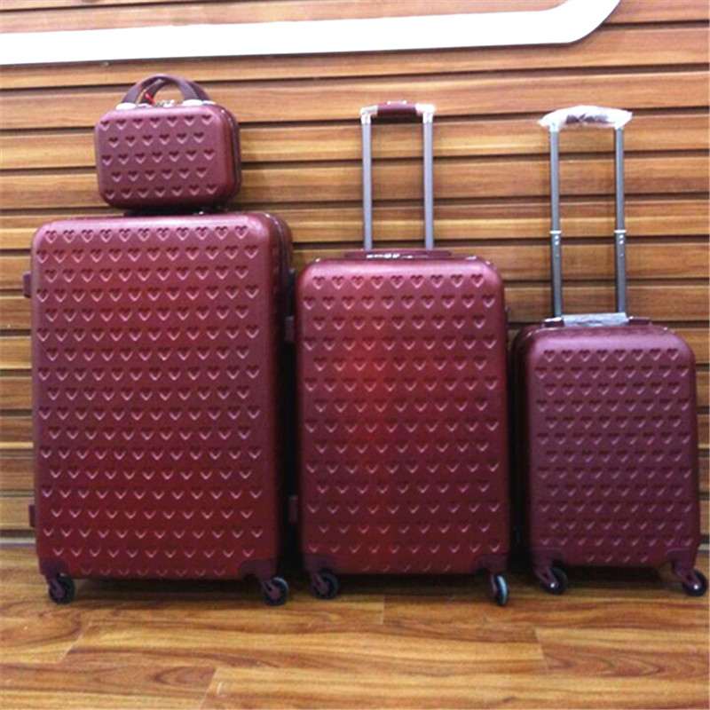 10 Pieces Suitcase Set,Luggage Set,Trolley Travel Suitcases in 8 Colours