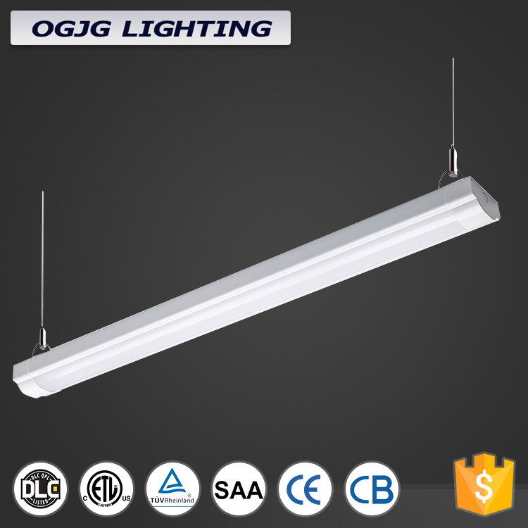 4 feet 8 feet 180 minutes Emergency battery industrial factory led tube light 20w 30w 40w 60w dimmable staircase linear lighting