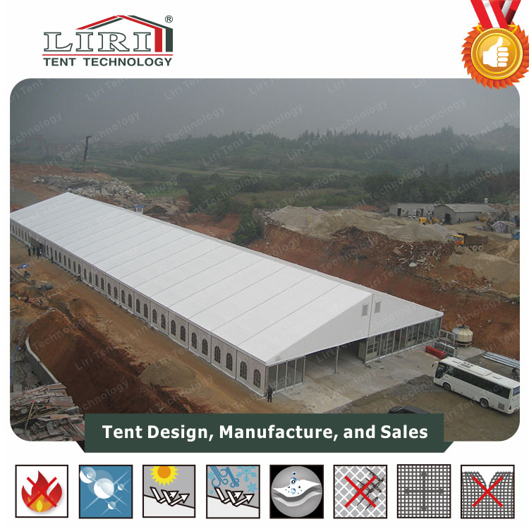 30x50 Aluminum Frame Permanent Tent For Warehouse