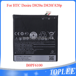 For HTC Desire 820 battery B0PF6100 lithium battery with 3.82V 2600mah