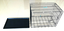 "Folding Colored Metal Pet Crate/Dog Cage 18"" 24"" 30"" 36"" 42"" 48"" 52"" xxxl"