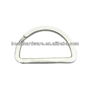 Fashion High Quality Metal Split D Ring