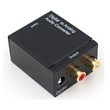Digitale optische om <span class=keywords><strong>analoge</strong></span> coaxiale RCA audio converter