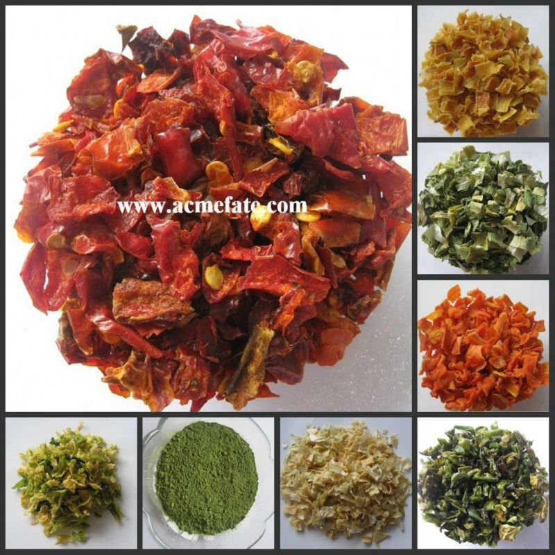Top Quality Dry Vegetable Dehydrated Carrot Flakes