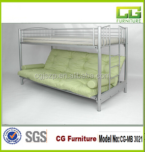 Italian Bed Frame queen size bunk bed for adult CG-MB 3021
