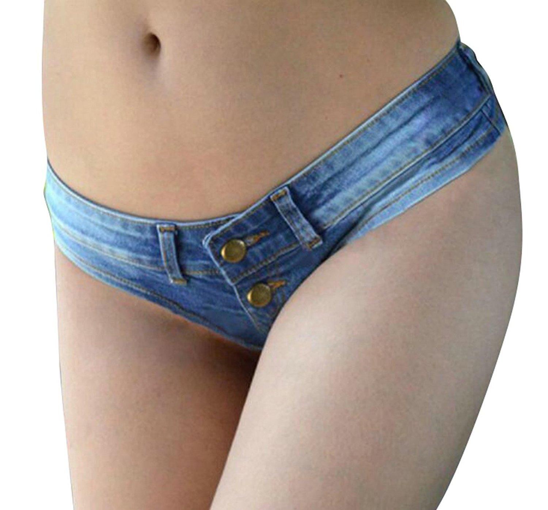 Frauen Mini Jeans Shorts Pants Jeans Denim Shorts Sommer Strand Mini Hot