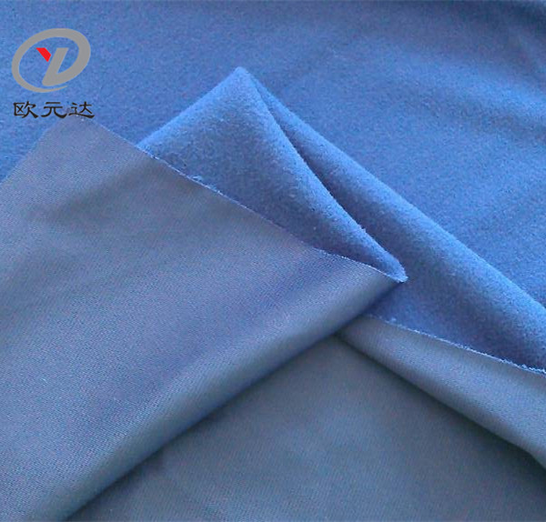 100% Polyester Brushed Super Poly Knitted Fabric For Sport Wears, Garment & Textile