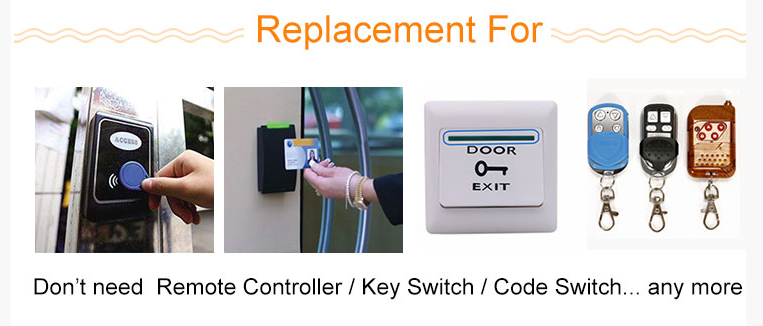 Smart wifi remote controller for auto gate motor