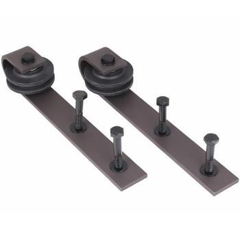 Black Sliding Pulley Used For Barn Door Hardware System ...