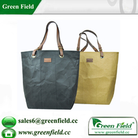 Men and woven popular hangbag, brown kraft paper bags