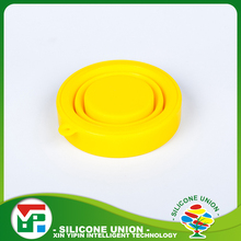 Hot selling promotional gift food grade silicone water cups