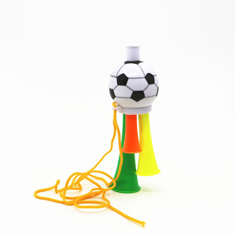 Hot sale mini promotional football horn cheering football sports horn,cheering tool