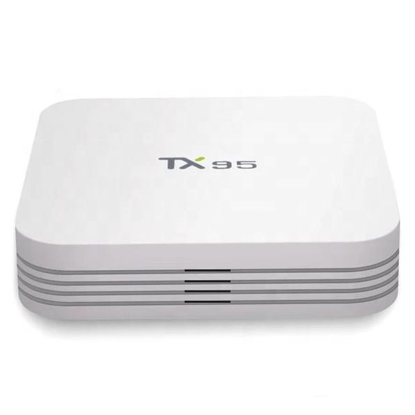 Hot Selling OTT TV Android 7.1 Mini PC BOX Channels List 4K 2GB 16GB Amlogic S905W Internet Set Top Box TX95