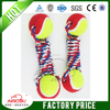 New design Soft cotton rope dog toy ball,wholesale pet toy