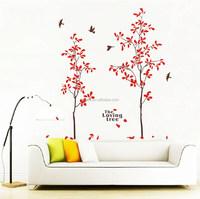 Wall Art Quote Flying Birds Islamic Vinyl Wall Sticker