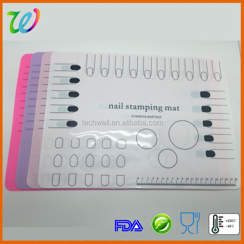 wholesale nail art printer with silicone mat