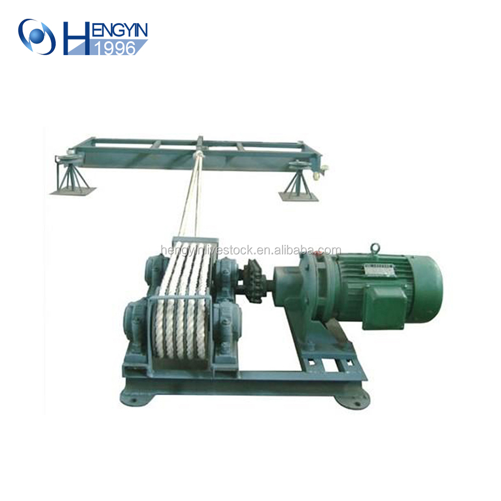 poultry farming equipment/slurry Scraper for pig chicken and cow