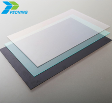 Latest building materials polycarbonate sheet terrace interior decoration roof opaque glass wall panels