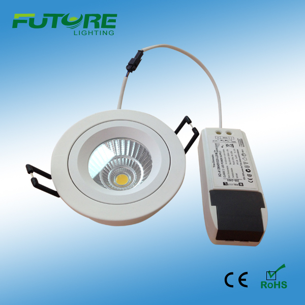 China cree led recessed lighting wholesale alibaba 9w dimmable cob cree led recessed light spot for home and hotels aloadofball Images