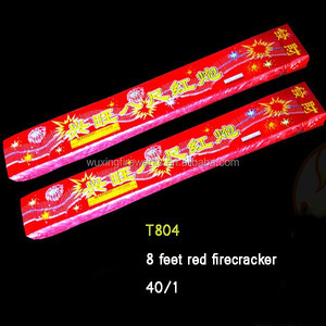 bunga api Malaysia fire cracker 8 feet red firecracker fireworks