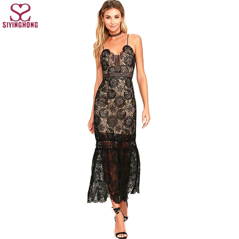 Wholesale black laser elegant and sexy bodycon midi party dress for ladies