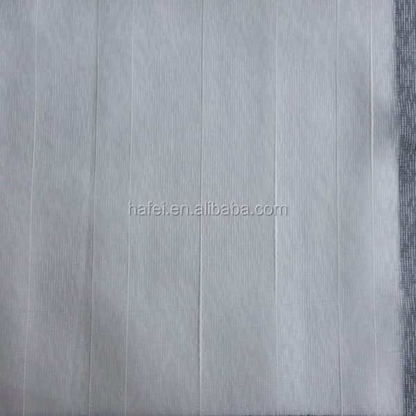 Hotel Luxury Voile Jacquard polyester hotel curtain