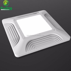 Ultrathin 80watt LED canopy light 125W-250W HID HPS halogen lighting replacement workshop stadium gym led