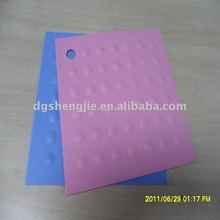 Natural silicone rubber kitchen table placemats
