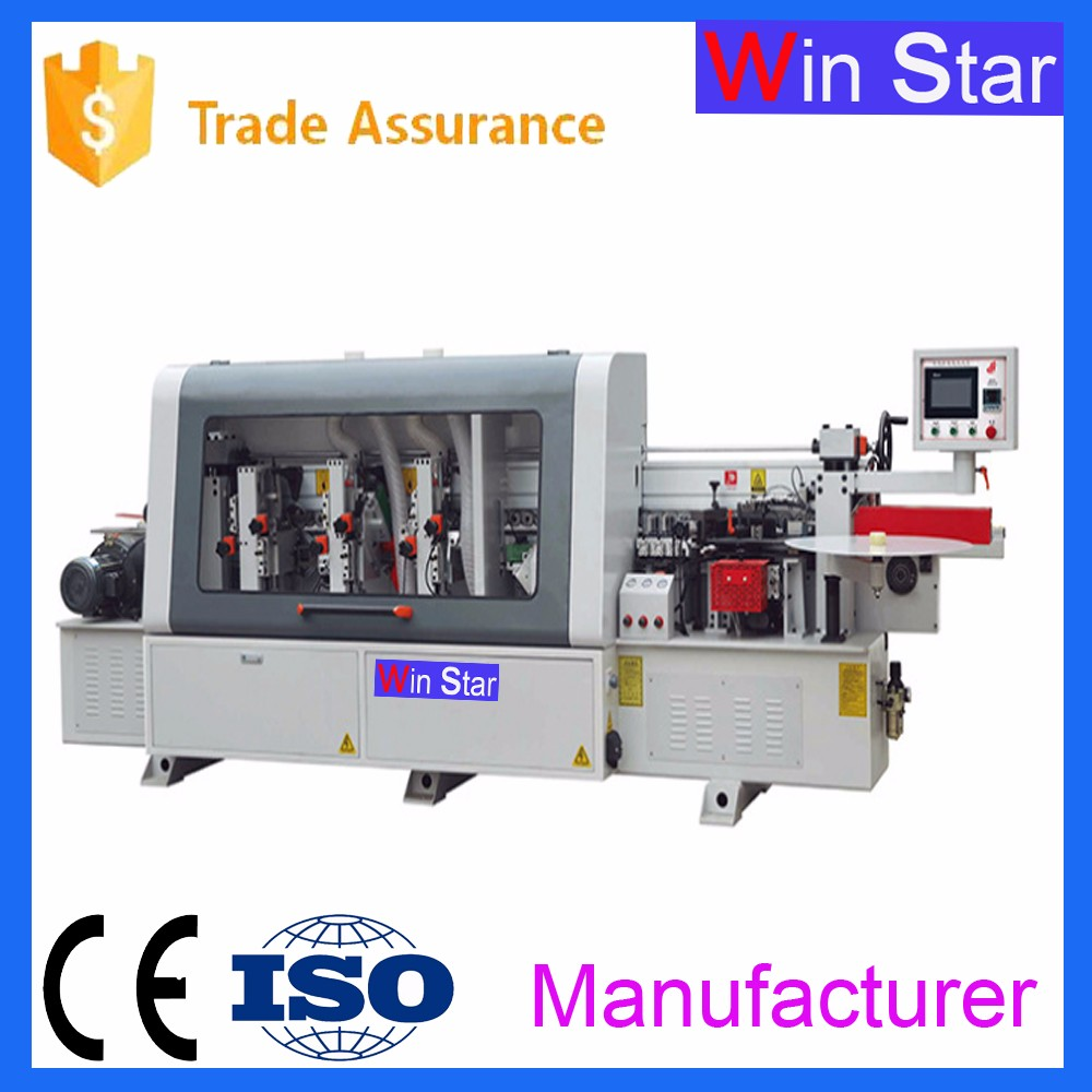 China woodworking machinery edge banding machine auto edge bander