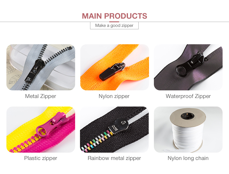 7# Nylon waterproof shiny zipper open end with good quality