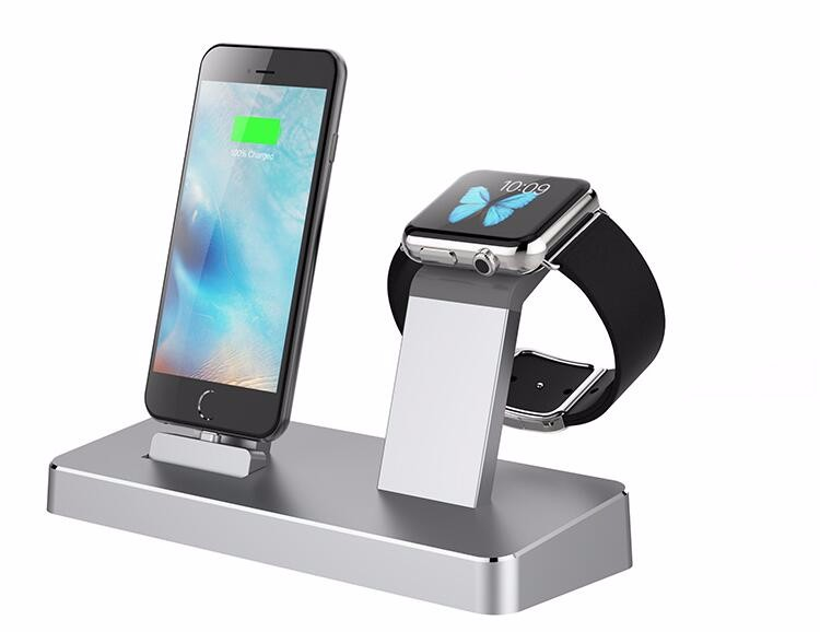 3 in 1 48W detachable multi-function power cradle battery dock charger For Iphone 6S Plus ana Apple Watch
