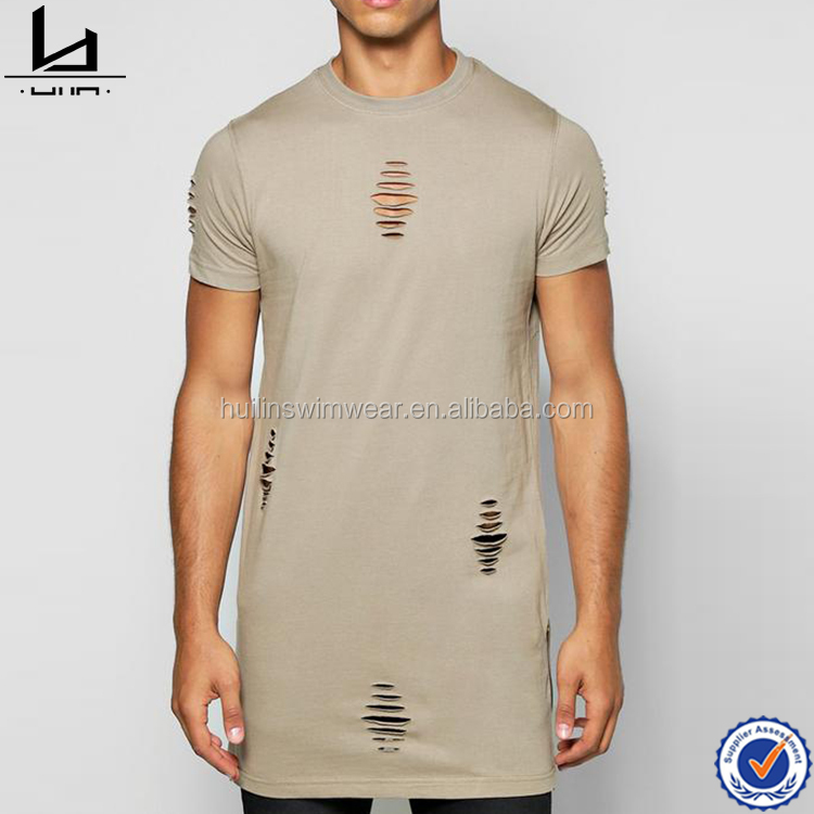 Wholesale fitness apparel make your own t shirts design t shirts with zip tshirt men