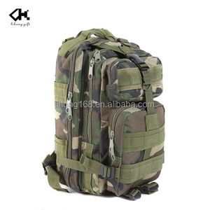 High quantity military camouflage backpack