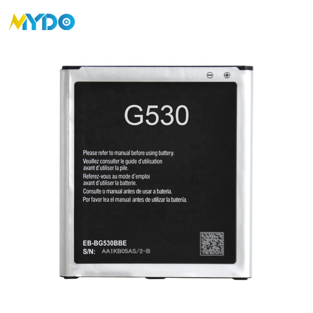 Rechargeable mobile battery for samsung galaxy grand prime EB-BG530BBC G530