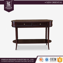 American Post Moden Entrance Furniture , soild Wooden furniture Home Entrance Console Table